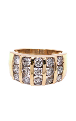 Deutsch Estate Jewelry Fashion Rings Wedding Band GTS-DIA product image